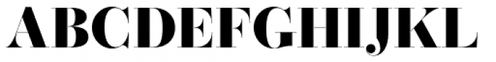 Operetta 32 Ultra Bold Font UPPERCASE