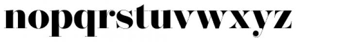 Operetta 32 Ultra Bold Font LOWERCASE