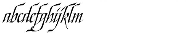 Ophelia Italic Font LOWERCASE