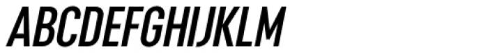 Opinion Pro Extra Condensed Semi Bold Italic Font UPPERCASE