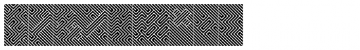 Optica Negative Font OTHER CHARS