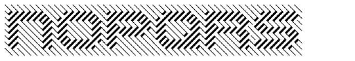 Opticum One Font UPPERCASE