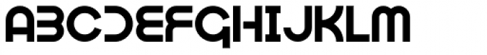 Optien Font UPPERCASE