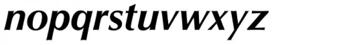 Optima Bold Italic Font LOWERCASE