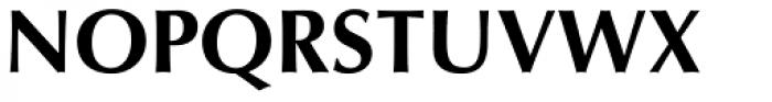 Optima Pro Bold Font UPPERCASE