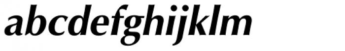 Optima Pro Cyrillic Bold Oblique Font LOWERCASE