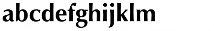 Optima Pro Cyrillic Bold Font LOWERCASE