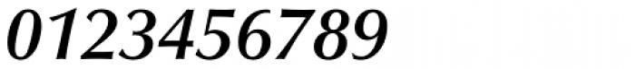 Optima Pro DemiBold Italic Font OTHER CHARS