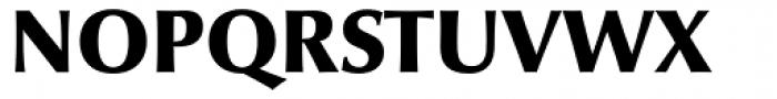 Optima nova Black Font UPPERCASE
