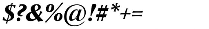 Optima nova Heavy Italic Font OTHER CHARS