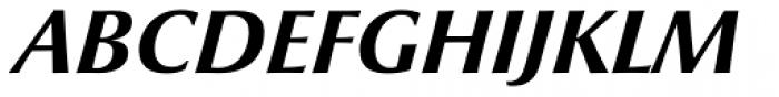 Optima nova Heavy Italic Font UPPERCASE