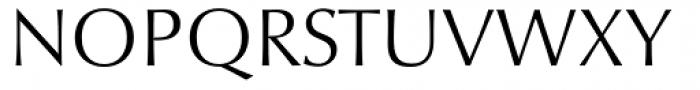 Optima nova Light SC Font UPPERCASE