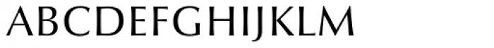 Optima nova Light SC Font LOWERCASE