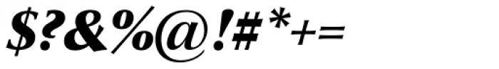 Optima nova Pro Black Italic Font OTHER CHARS