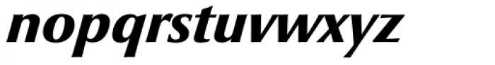 Optima nova Pro Black Italic Font LOWERCASE