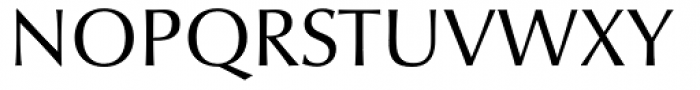 Optima nova Regular Font UPPERCASE