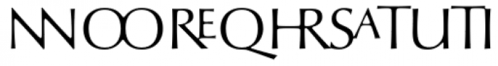 Optima nova Titling Font LOWERCASE