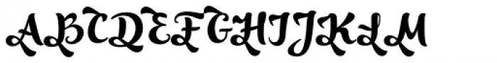 Optimisti Decor Font UPPERCASE