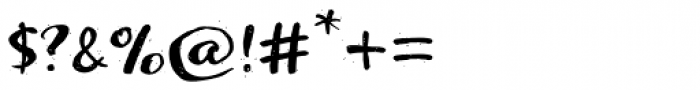 Optimisti Sparkling Font OTHER CHARS