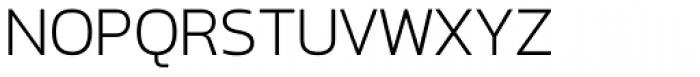 Option Sans Light Font UPPERCASE