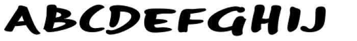 Optiscript EF Bold Font UPPERCASE