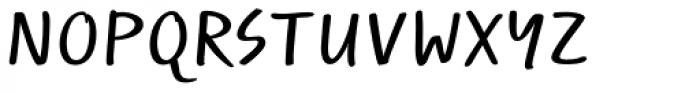 Optiscript EF Cond Alt Font UPPERCASE