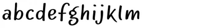 Optiscript EF Cond Alt Font LOWERCASE