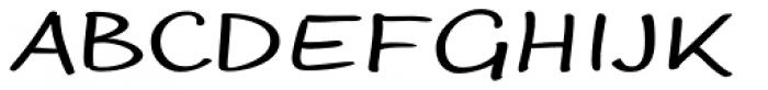Optiscript EF Regular Alt Font UPPERCASE