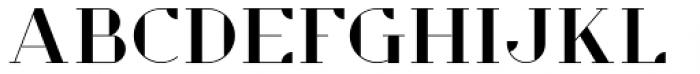 Opulent Regular Font UPPERCASE
