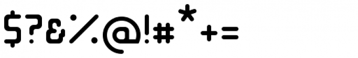Opus Regular Font OTHER CHARS