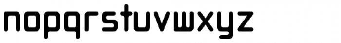 Opus Regular Font LOWERCASE