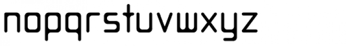 Opus Thin Font LOWERCASE