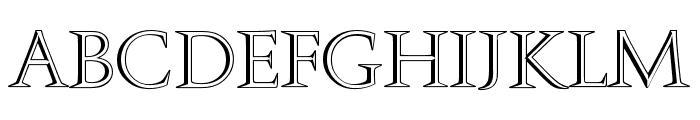 Openface-Regular Font LOWERCASE