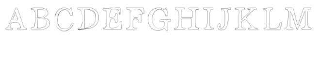 open sammy font Font UPPERCASE