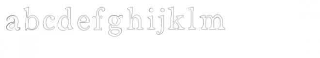 open sammy font Font LOWERCASE