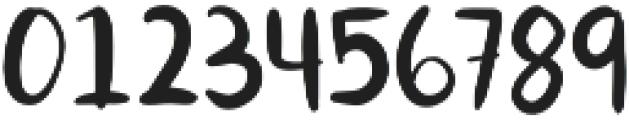 Orange You Glad otf (400) Font OTHER CHARS