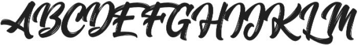 Oraqle Script Regular otf (400) Font UPPERCASE
