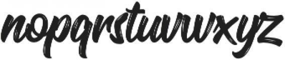 Oraqle Script Regular otf (400) Font LOWERCASE