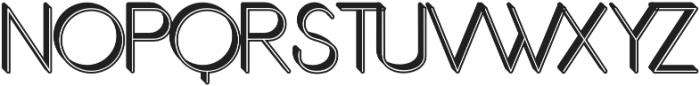 Orbicular 3d otf (400) Font UPPERCASE