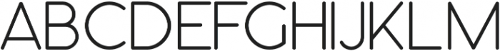 Orbicular bold otf (700) Font UPPERCASE