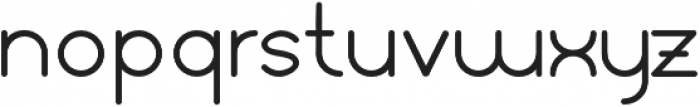 Orbicular bold otf (700) Font LOWERCASE