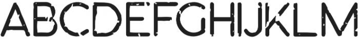 Orbicular grungy otf (400) Font UPPERCASE