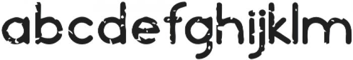Orbicular grungy otf (400) Font LOWERCASE