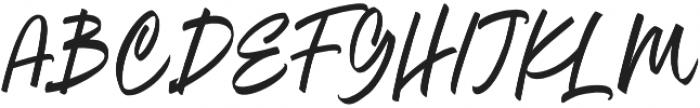 Oregon Script Alt otf (400) Font UPPERCASE