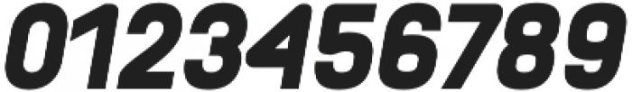 Orev Black Italic otf (900) Font OTHER CHARS