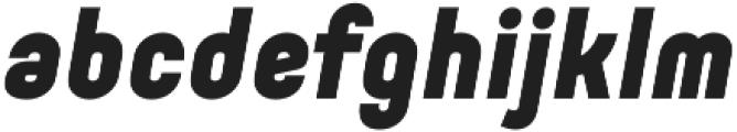 Orev Black Italic otf (900) Font LOWERCASE