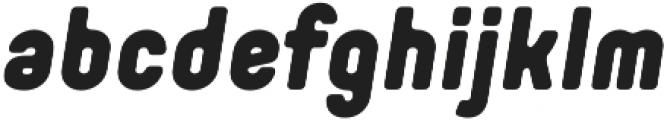 Orev Edge Black Italic otf (900) Font LOWERCASE