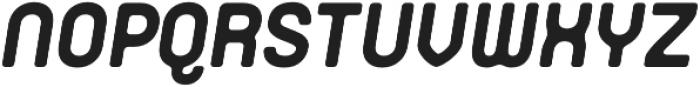 Orev Edge ExtraBold Italic otf (700) Font UPPERCASE