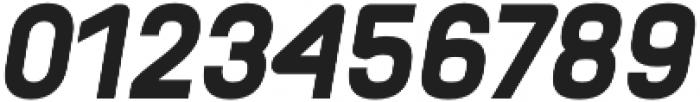Orev ExtraBold Italic otf (700) Font OTHER CHARS