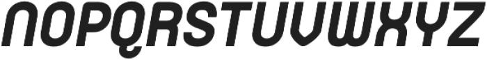Orev ExtraBold Italic otf (700) Font UPPERCASE
